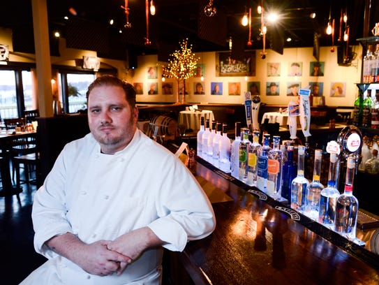 Executive Chef Richard Sweed poses for a portrait in