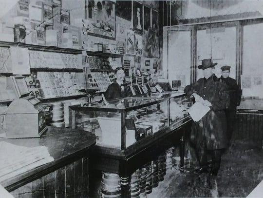 Loomis Cigar store.