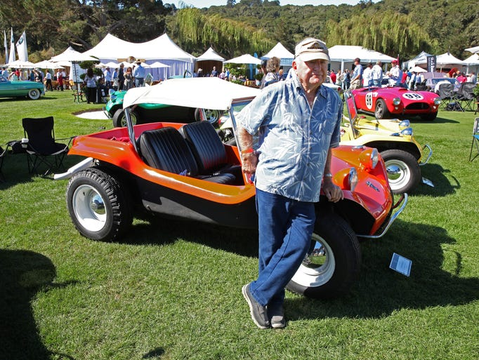 Bruce Meyers, inventor of the Meyers Manx, know to