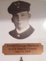 A photo of slain Des Moines Police Officer George W.
