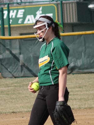 Elizabeth Izworski was one of two Sycamore pitchers last season. She also led the Lady Aves in runs batted in.