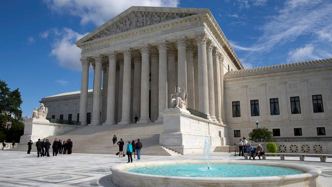 The Supreme Court re-entered the debate over gay rights by ruling in a case involving lesbian adoption.