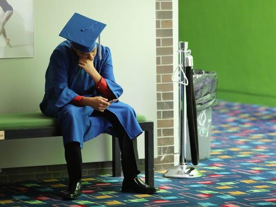 Hendrick Hudson High School graduation at SUNY Purchase