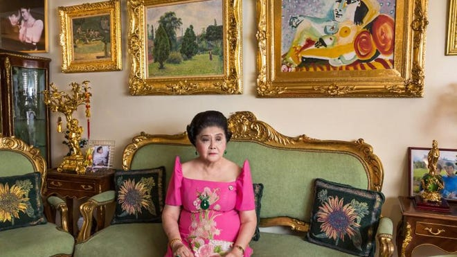 """Imelda Marcos, the widow of Ferdinand Marcos, a president-turned-bloody dictator of the Philippines, is profiled on """"The Kingmaker."""""""