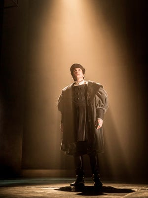 """Ben Miles plays Thomas Cromwell in """"Wolf Hall"""" on Broadway."""
