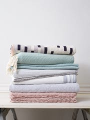 Lighter blanket options for a more comfortable night.