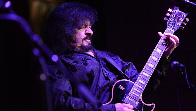 Guitarist Vince Martell of Vanilla Fudge performs in New York in 2013,.