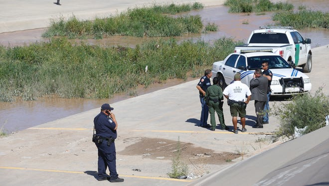El Paso Fire Department, Border Patrol and El Paso Police Department personnel were dispatched to the Rio Grande River near Santa Fe St. when a passerby in Juarez, Mexico flagged down U.S. Border Patrol agents after spotting a person in the river and called 9-1-1. The first unit arrived on the scene and the Water Rescue team was again dispatched to retrieve the body of a male, approximately 17 years of age, from the water Tuesday morning.