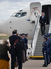 Jens Stoltenberg, secretary general of NATO, arrives