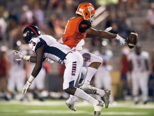 A pass intended for Powell's Bailor Walker falls incomplete