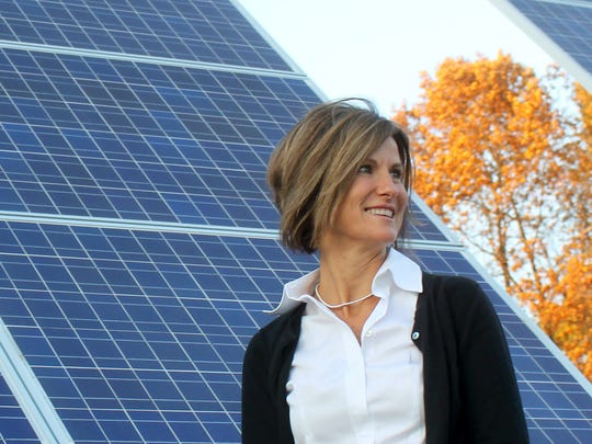 Mary Powell, president and chief executive of Green Mountain Power.