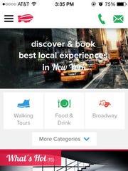 The app Headout
