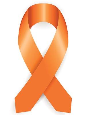 Leukemia cancer awareness ribbon