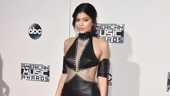 Kylie Jenner arrives at the American Music Awards at