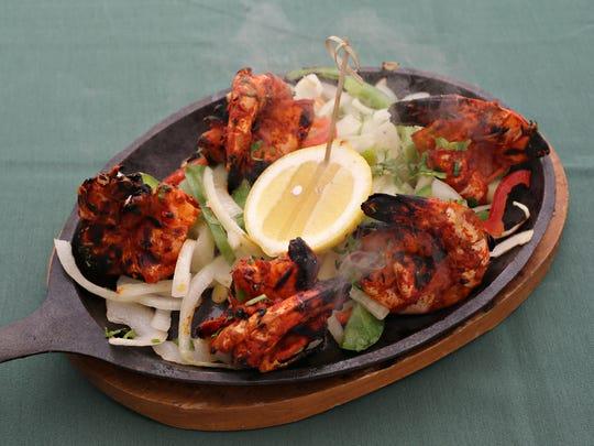 The tandoori shrimp from Marigold Maison in Paradise