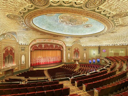Tennessee Theatre Opened In Late 1928 The Luxurious