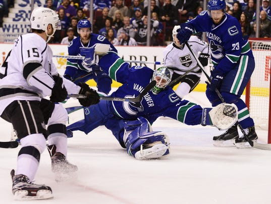 USP NHL: LOS ANGELES KINGS AT VANCOUVER CANUCKS S HKN CAN BR