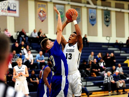 Penn State Harrisburg senior Anthony Morgan is one