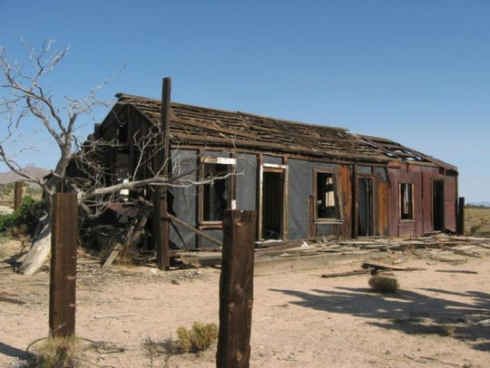 The remnants of Santa's Ghost Town.