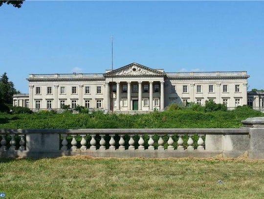 Lynnewood Hall in Philadelphia.