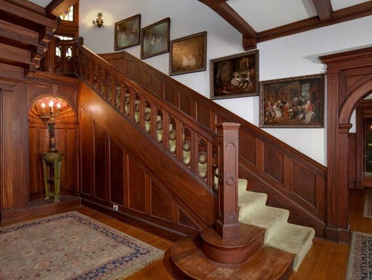 """The home is described as having a """"muted opulent"""" style."""