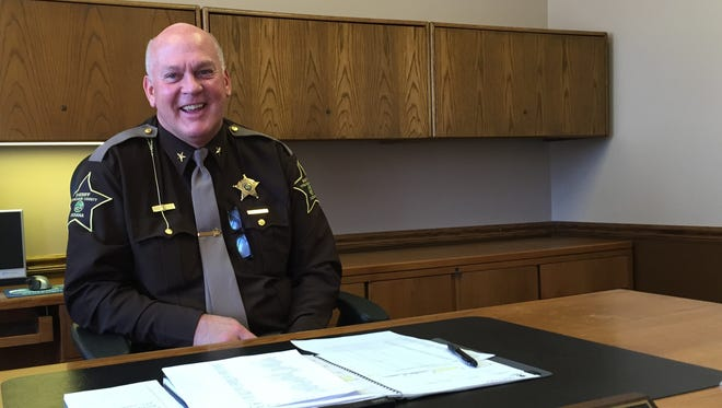 Tippecanoe County Sheriff Barry Richard presented a five-year plan bolster the office's complement.