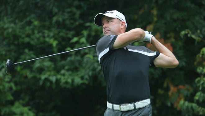 GlenArbor's Rob Labritz is off to a good start at the MasterCard Westchester PGA Championship.
