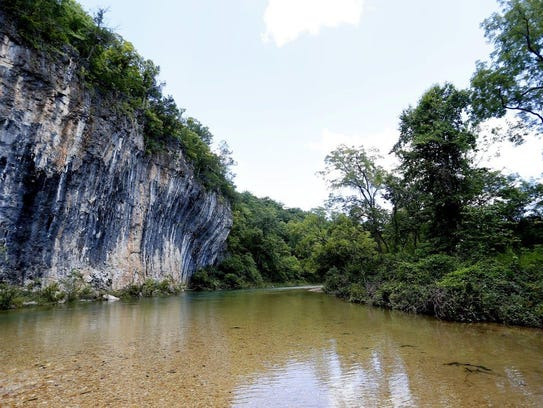 A river cleanup is planned for Earth Day at Echo Bluff