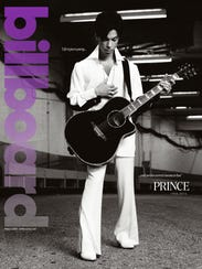 The cover of the Prince tribute issue of 'Billboard.'
