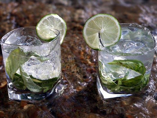 Boozy drinks as pretty as a pitcher