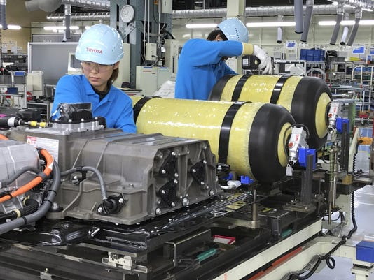 Japan Toyota Hydrogen (4)