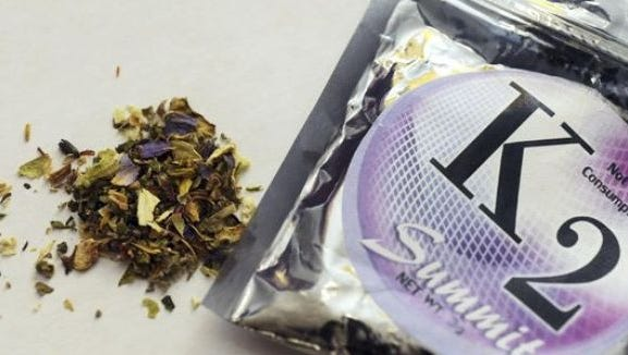 Authorities say synthetic pot is designed to mimic marijuana but can have very different health effects.