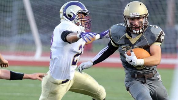 Clarkstown South and Clarkstown North met on Sept.