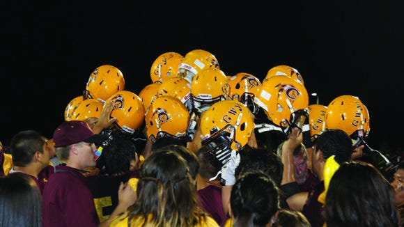 Cherokee opens its football season Friday at home in its first game since winning a state championship last season.