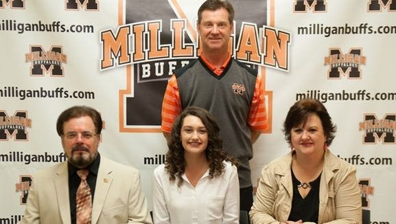 East Henderson senior Ashley Cauthen has signed to play college golf for Milligan (Tenn.).