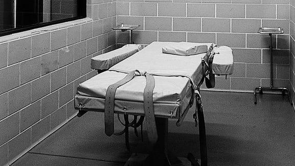 Arizona's execution chamber.