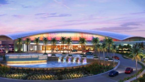 Artist's rendering of completed Desert Diamond Casino.