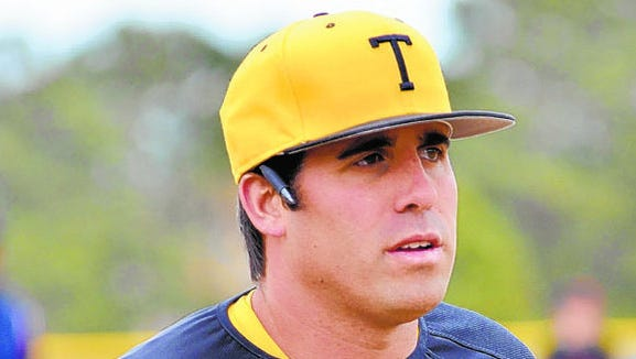 Topsail baseball coach Granville Gehris was formerly at Erwin for seven years.