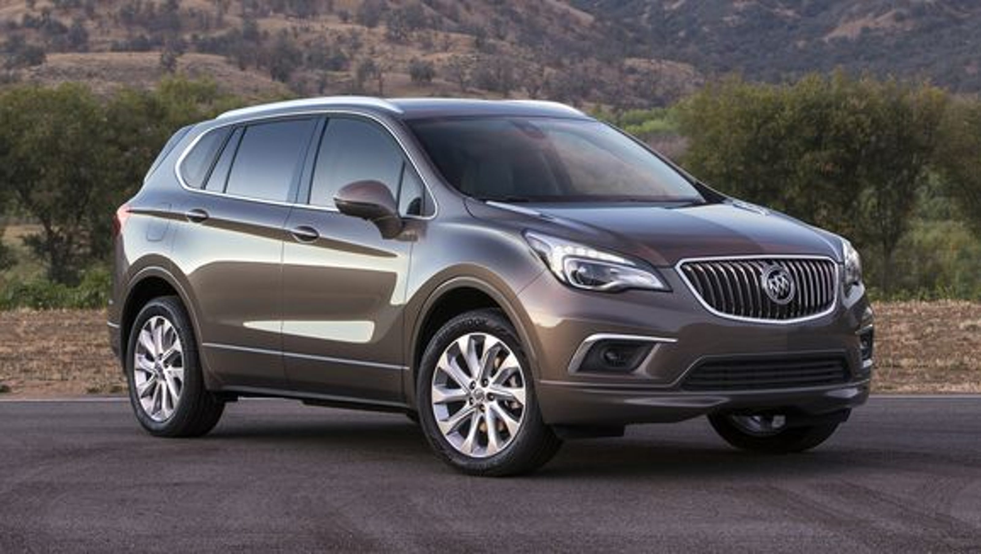 Buick shows photos of Chinese-made Envision SUV for U.S.