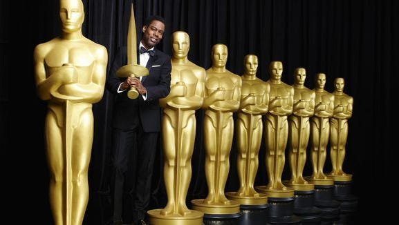 Chris Rock hosts the 88th Academy Awards.