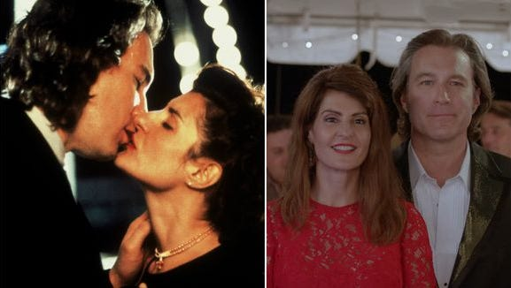 Toula and Ian (Nia Vardalos and John Corbett) are married with a daughter in 'Big Fat Greek Wedding 2.'