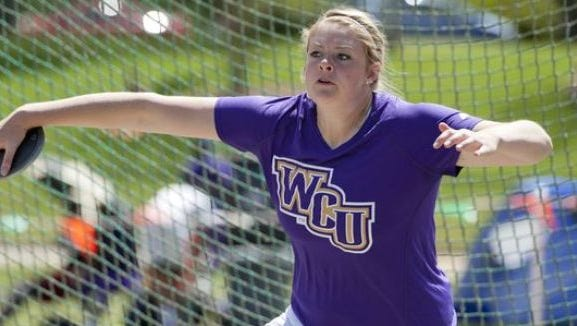 Hailey Cook is a junior for the Western Carolina University women's track team.