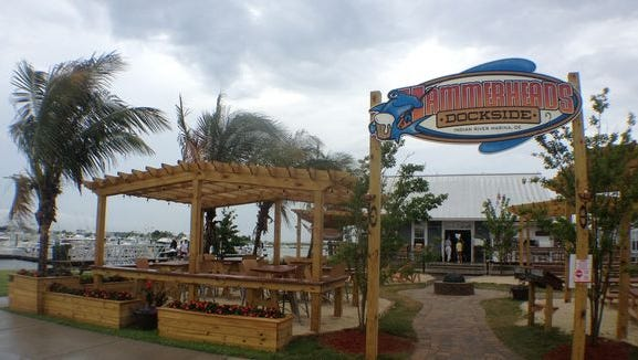 Hammerheads Dockside, located at the Indian River Inlet in Delaware, offers daily happy hour specials from 1-4 p.m.