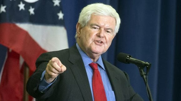 """""""Newt Gingrich is no longer a part of Fox News. For"""