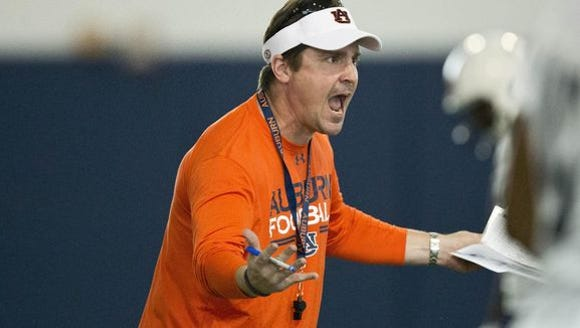 Former Auburn defensive coordinator Will Muschamp said