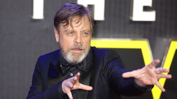 Mark Hamill will be a featured guest at Salt Lake Comic Con 2016.