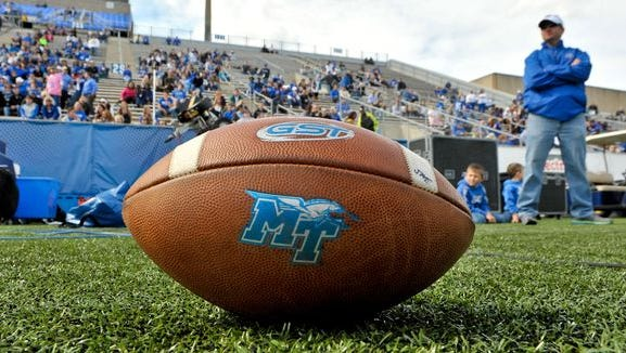 MTSU begins the season at home on Sept. 3 against Alabama A&M.