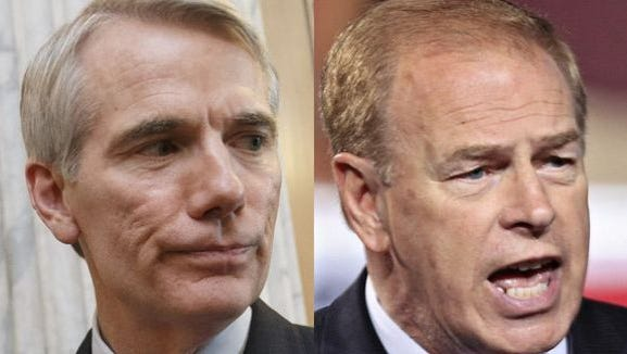 Rob Portman and Ted Strickland
