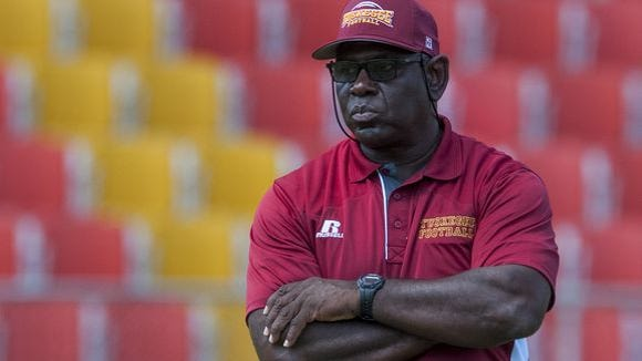 Willie Slater is looking to lead Tuskegee to its fourth