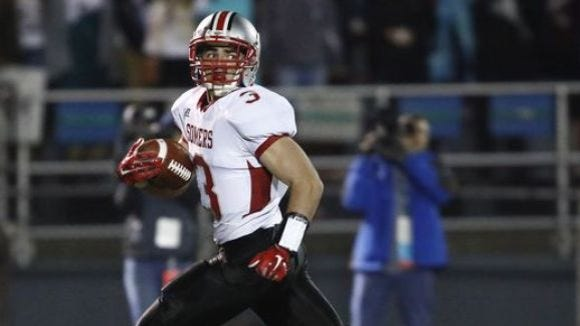Somers senior Matt Pires was named co-state player of the year in Class A when the New York State Sportswriters Association released its large-school all-state teams on Jan. 11, 2017.